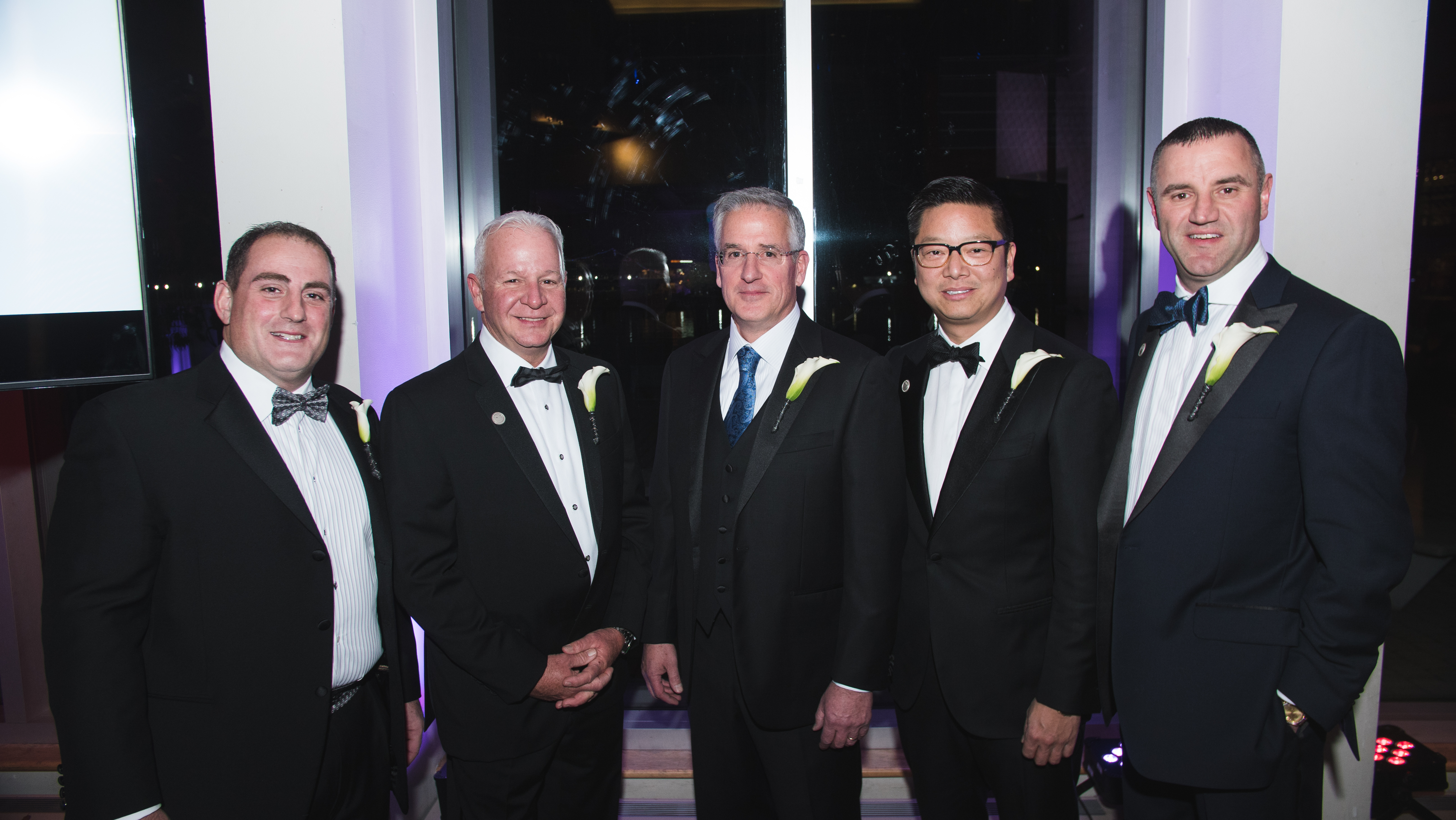 Caption: From L-R, Lou Vitantonio, David Waikem, Kevin Joyce, Joey Huang, Paul Hrnchar